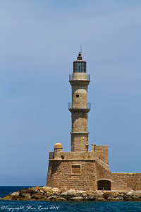 The Venetian Lighthouse, Chania, Crete