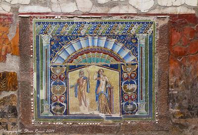 Mosaic of Neptune and Salacia, Herculaneum