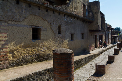 The ancient ruins of Herculaneum