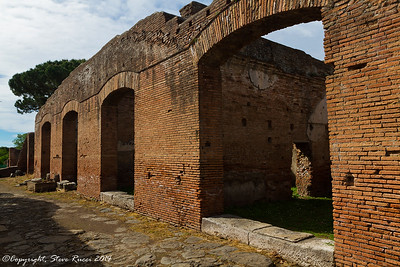 Buildings at Ostia Antica
