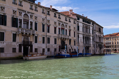 On the Grand Canal, Venice, Italy.
