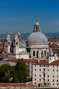 The Santa Maria della Salute church, Venice, Italy.