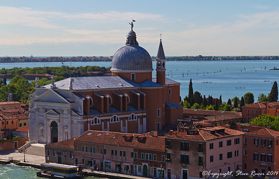 The Santissimo Redentore church, Venice, Italy.