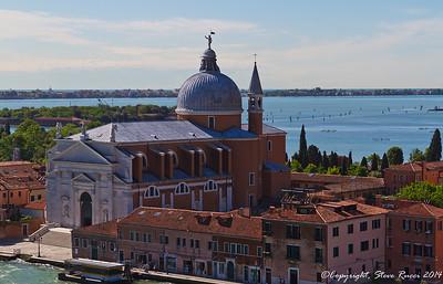 The Santissimo Redentore church, Venice, Italy.