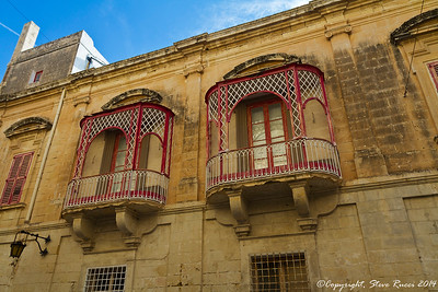 Along the streets of Mdina, Malta