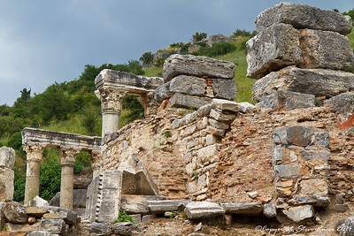 The ancient ruins of Epheus, Turkey