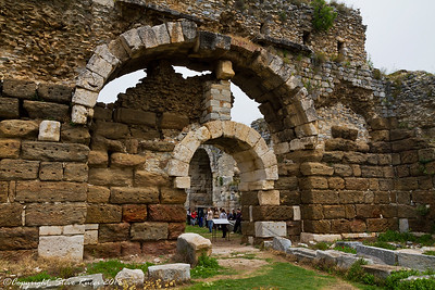 The Caldarium at the Faustina Baths - Miletus, Turkey