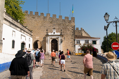 Entrance to the village of Obidos