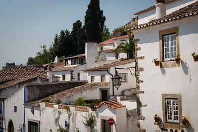 Village of Óbidos - Rooftops of the village