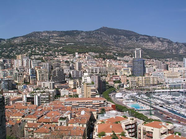 A view of the city as we leave for Monte Carlo, a part of Monaco.