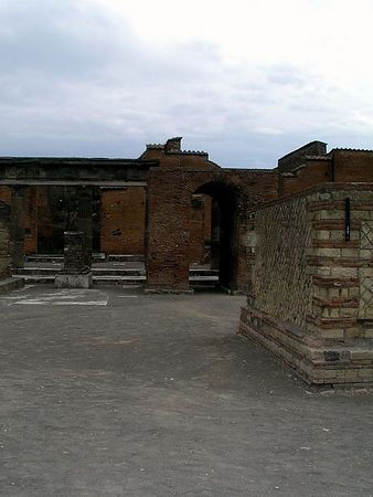 Part of a large house at Pompeii