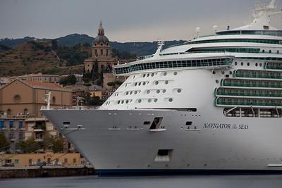The ship...Navigator of the Seas