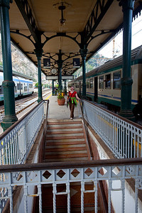 We took a train to Tourmina.  This is the train station.  I was impressed we managed to do all that in four hours.