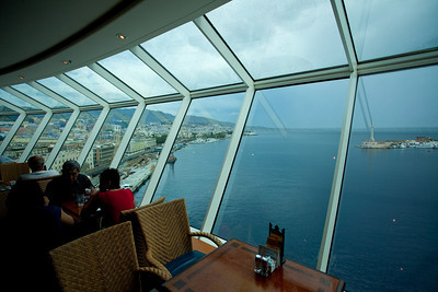 The Windjammer lounge.  Great view and quite a nice breakfast.