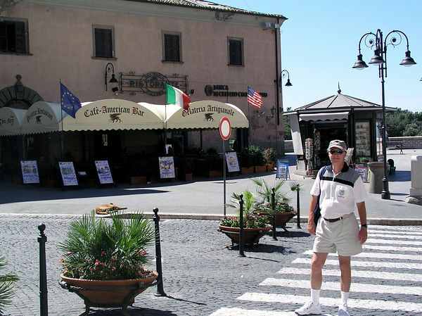 A restaurant in Tarquinia. We sampled the gelato. There is nothing like it here in the U.S. We dream of returning to Italy for the best gelato in the world.