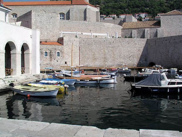 Dubrovnik is a walled city, fortressed against enemies from the land and the sea.
