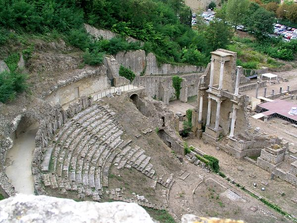 Another view of the amphitheatre
