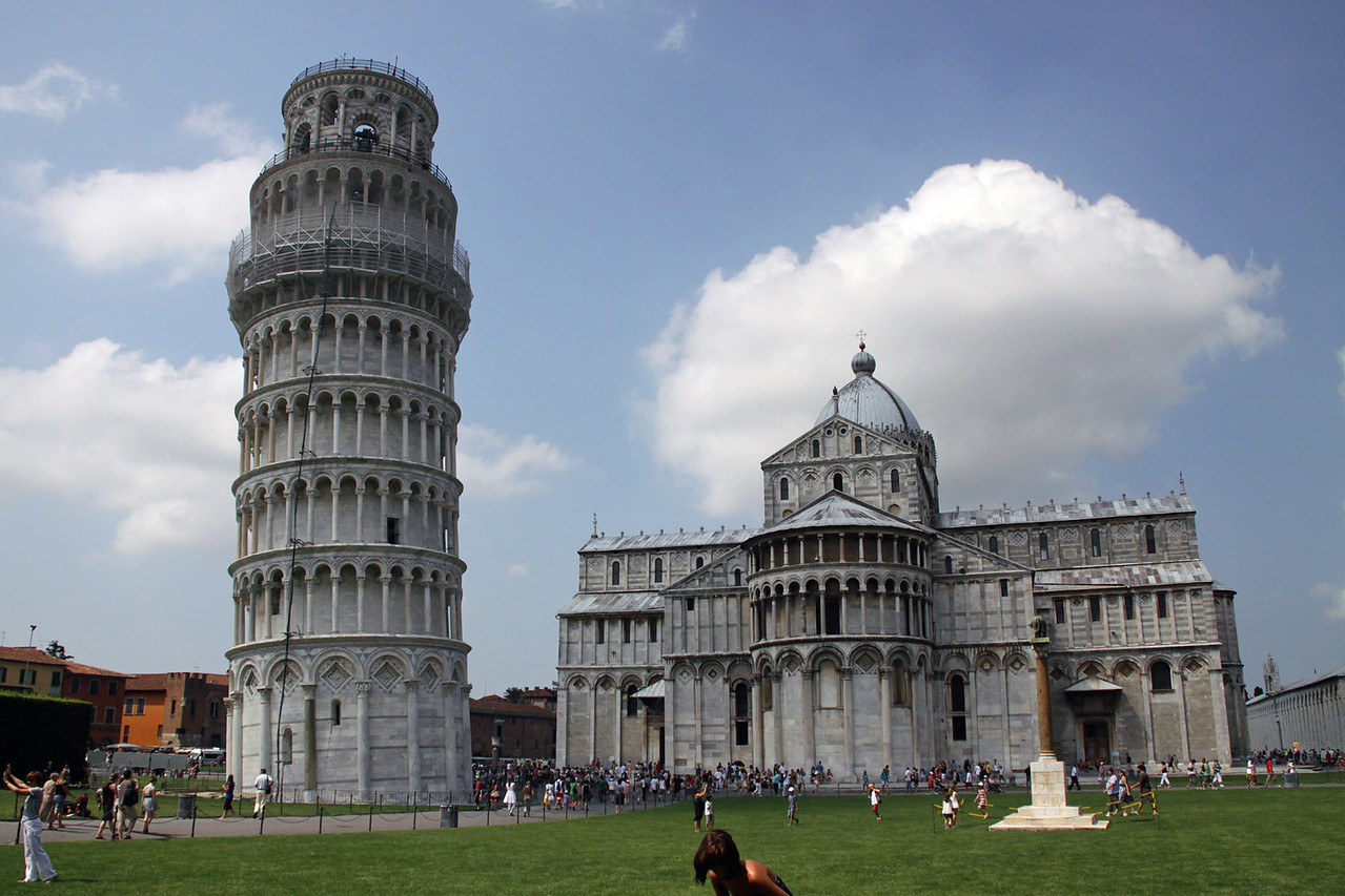 Leaning Tower & Cathedral - Pisa
