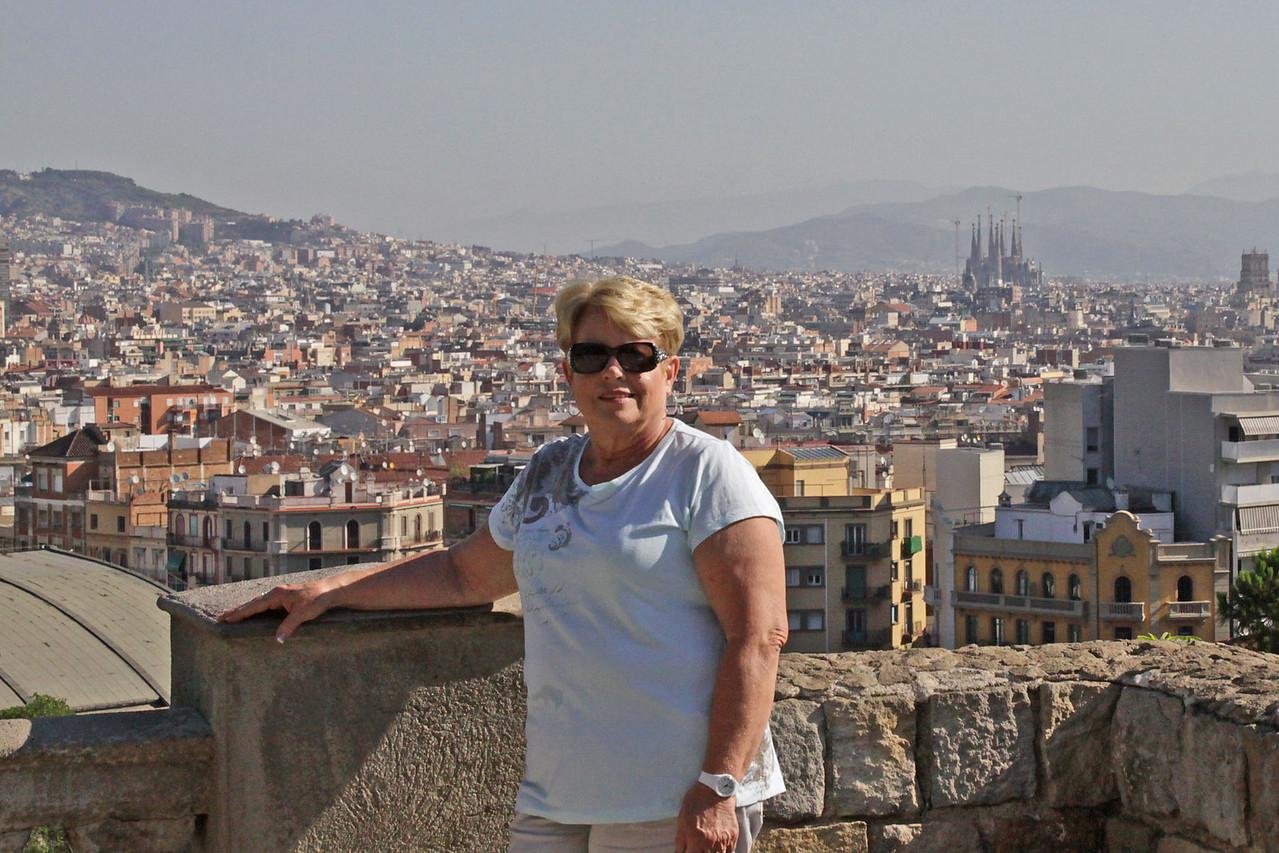 City Overlook from Catalan Art Museum