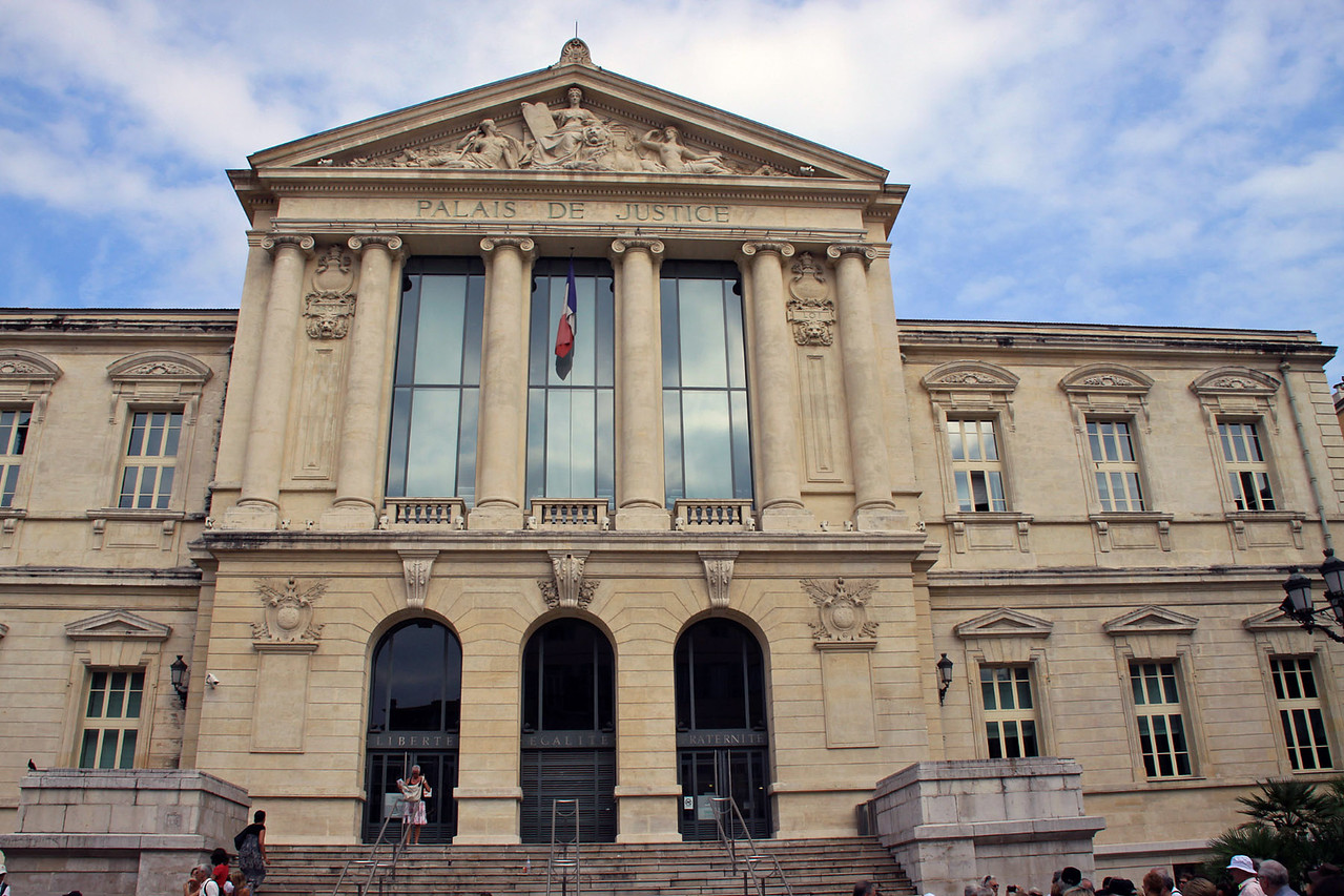 Palace of Justice - Nice, France