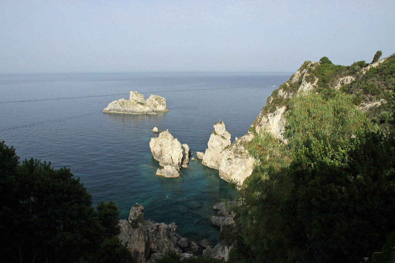 View from Monastery - Paleokastritsa