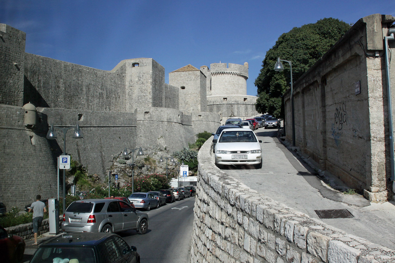 Exterior Wall of Old Town Dubrovnik