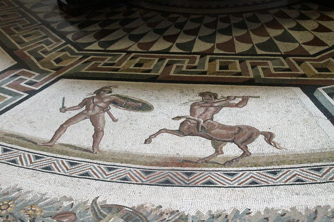 Vatican Museum - Floor Mozaic Tile