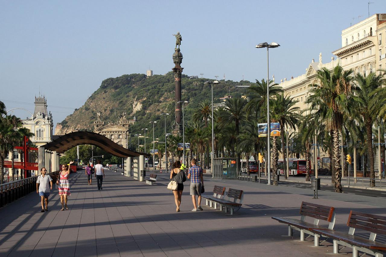 Passeig de Colom Street