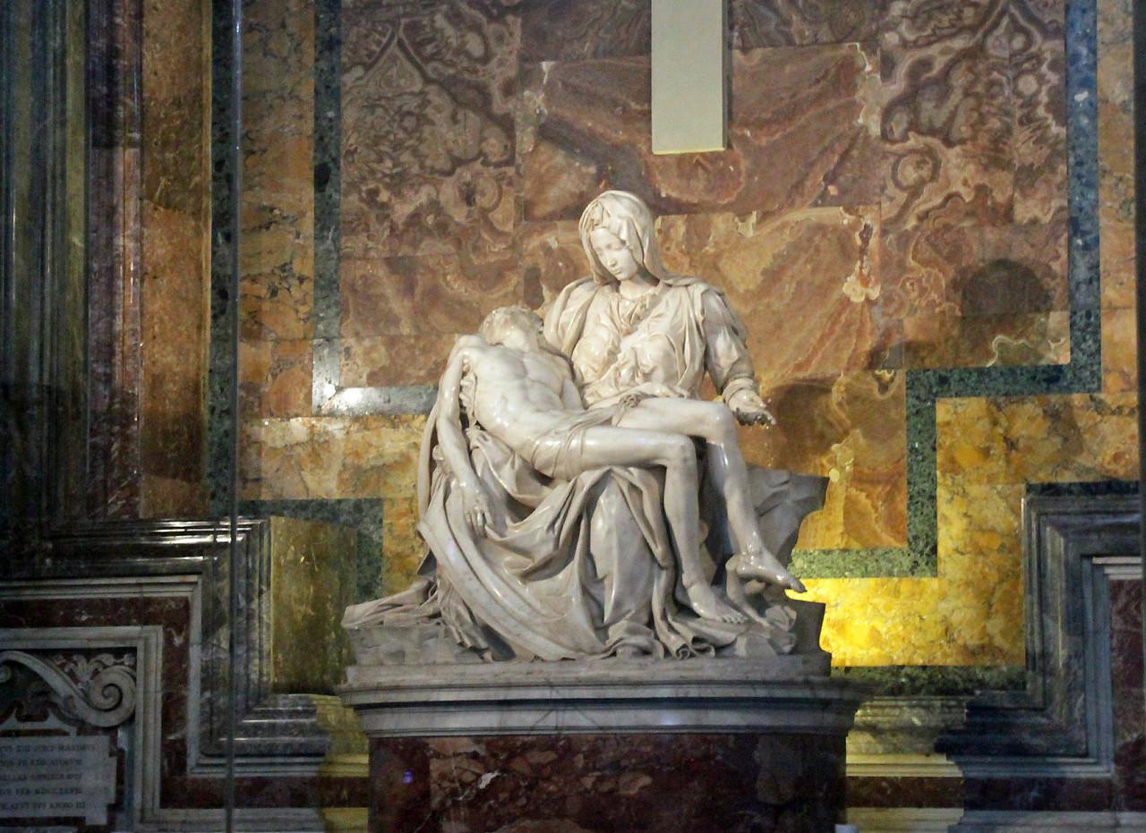 St. Peter's Basilica -Michelangelo's Pieta