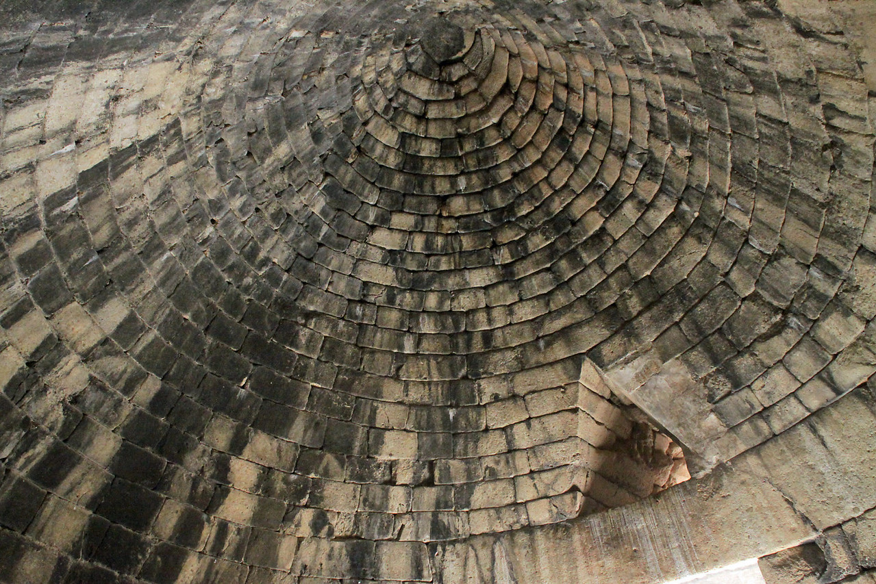 Mycenae Ruins - Inside Bee Hive Tomb
