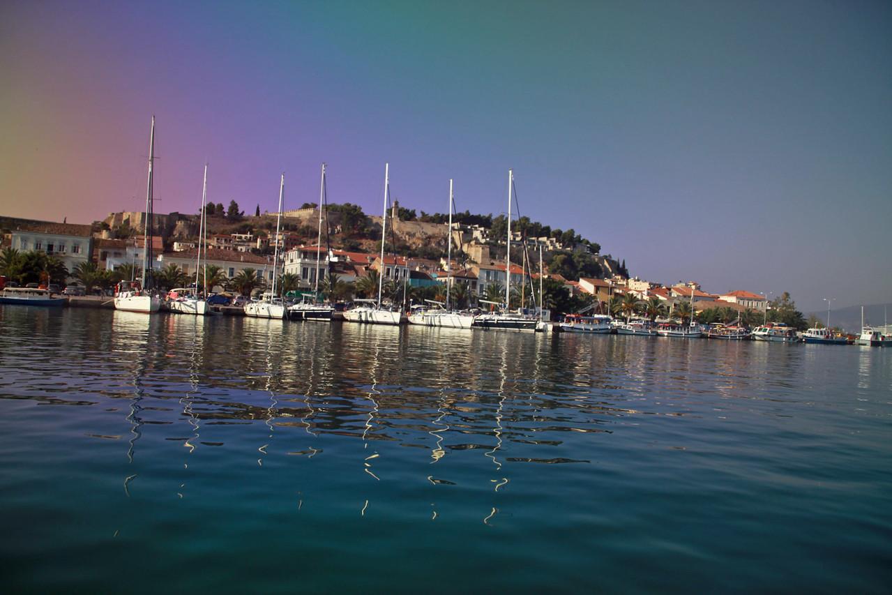 Navplion, Greece Harbor