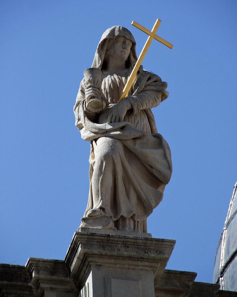 Statues on St. Blaisus Church