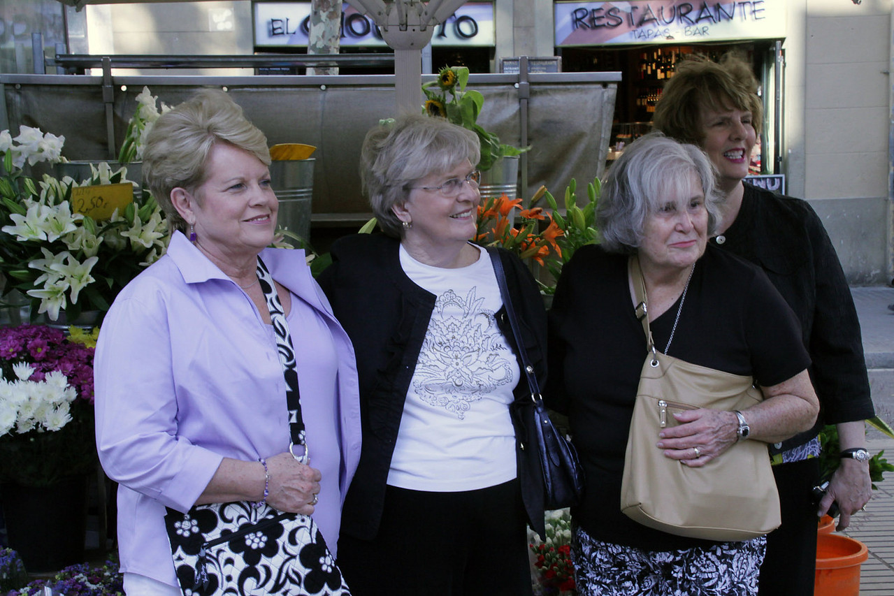 Connie, Loretta, Betty & Barbara