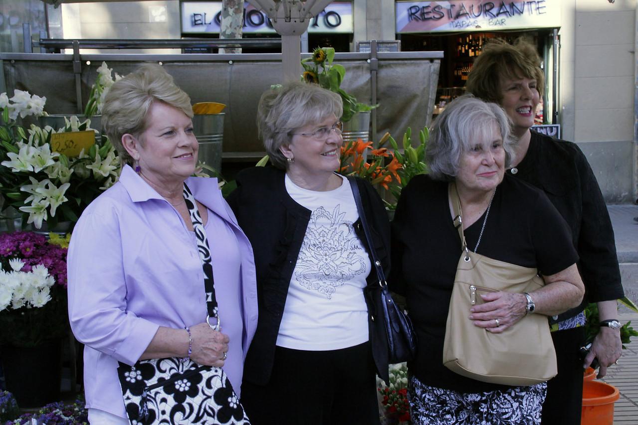 Connie, Loretta, Betty & Barbara
