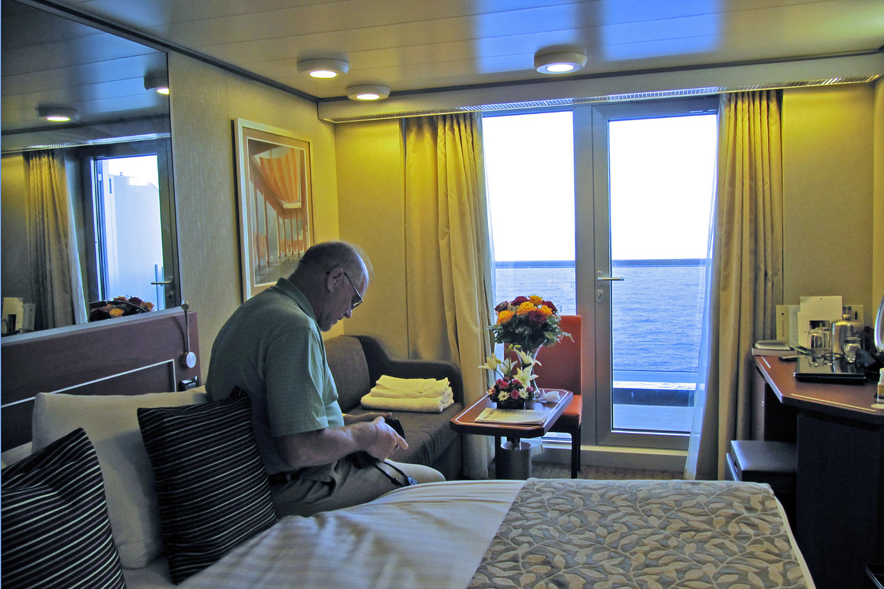 Dwayne in Ship Cabin