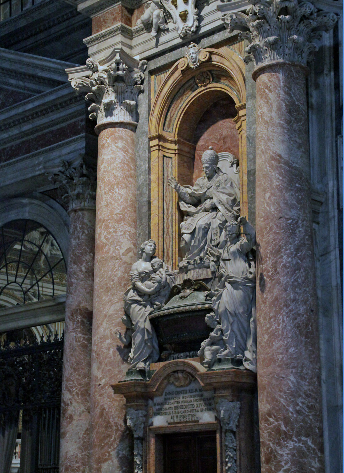 St. Peter's Basilica Carvings