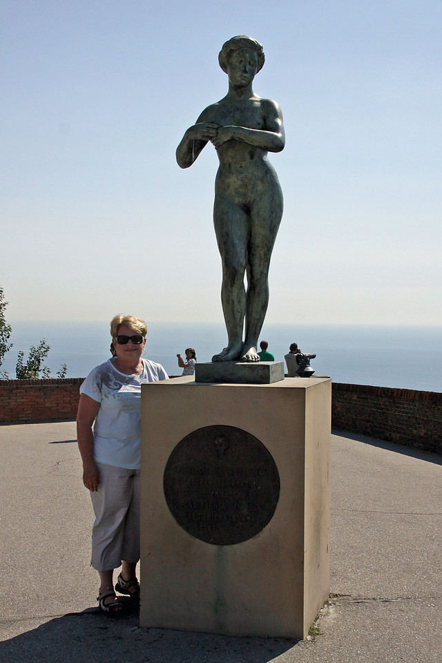 Statue at Fort Montjuic