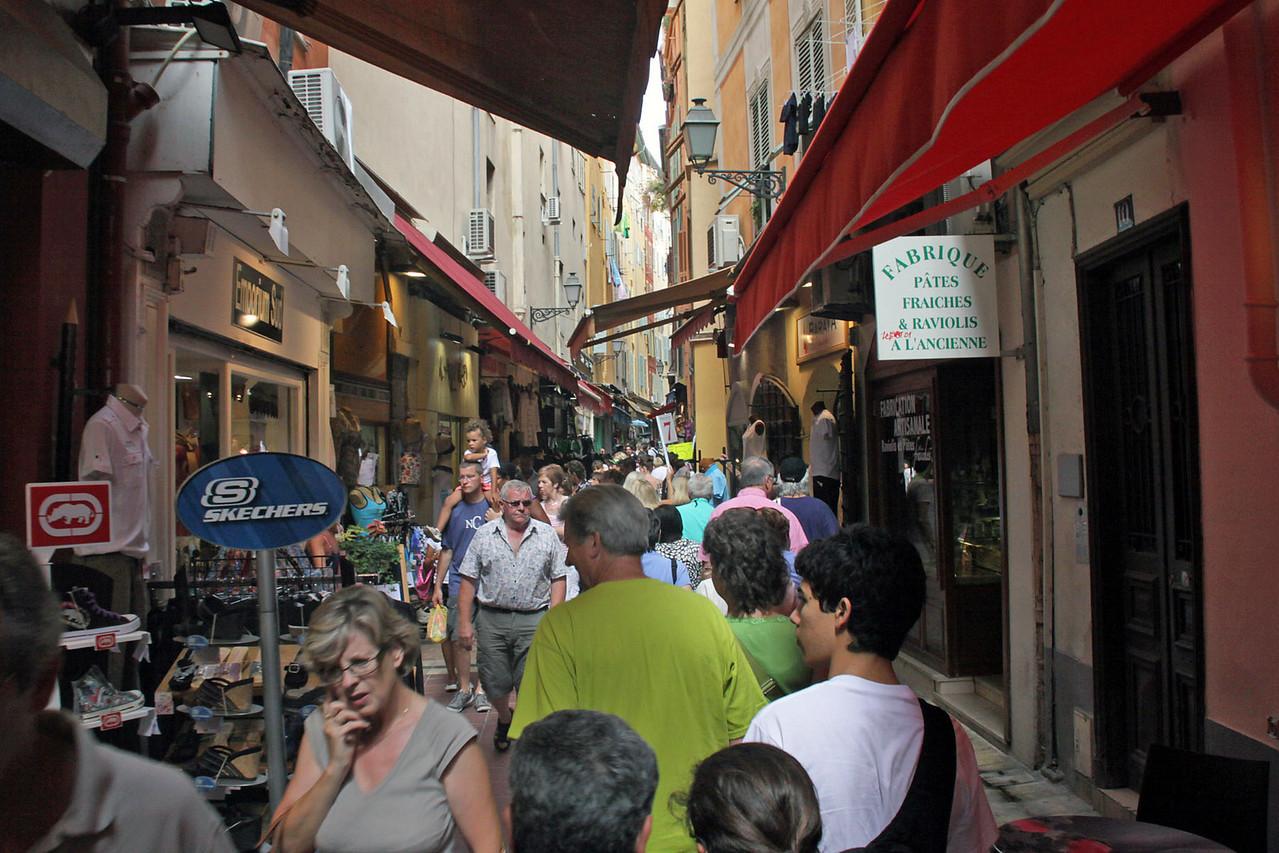 Shopping Street - Nice, France