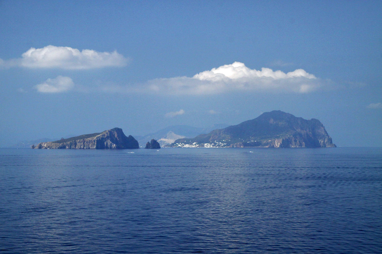 Volcanic Islands - Off Coast of italy