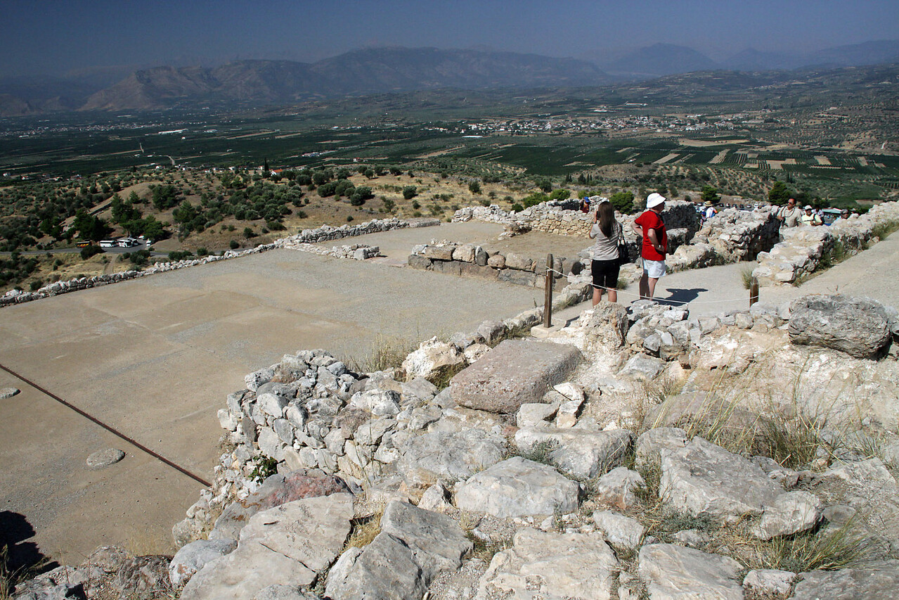 Citadel of Mycenae Ruins