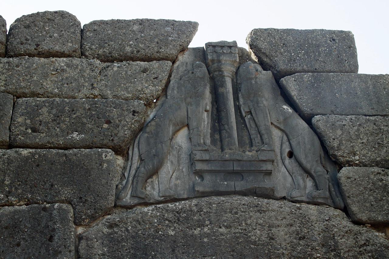 Mycenae Ruins - Lions Gate