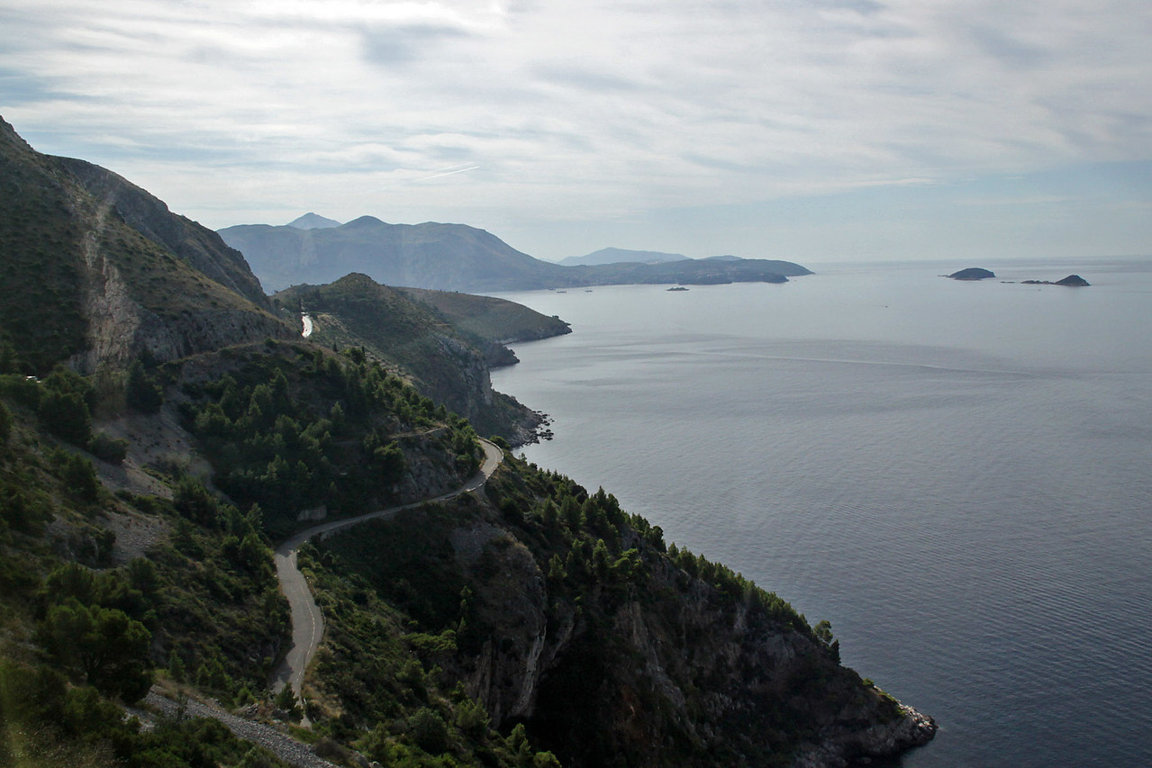 Coastline near Dubrovnik