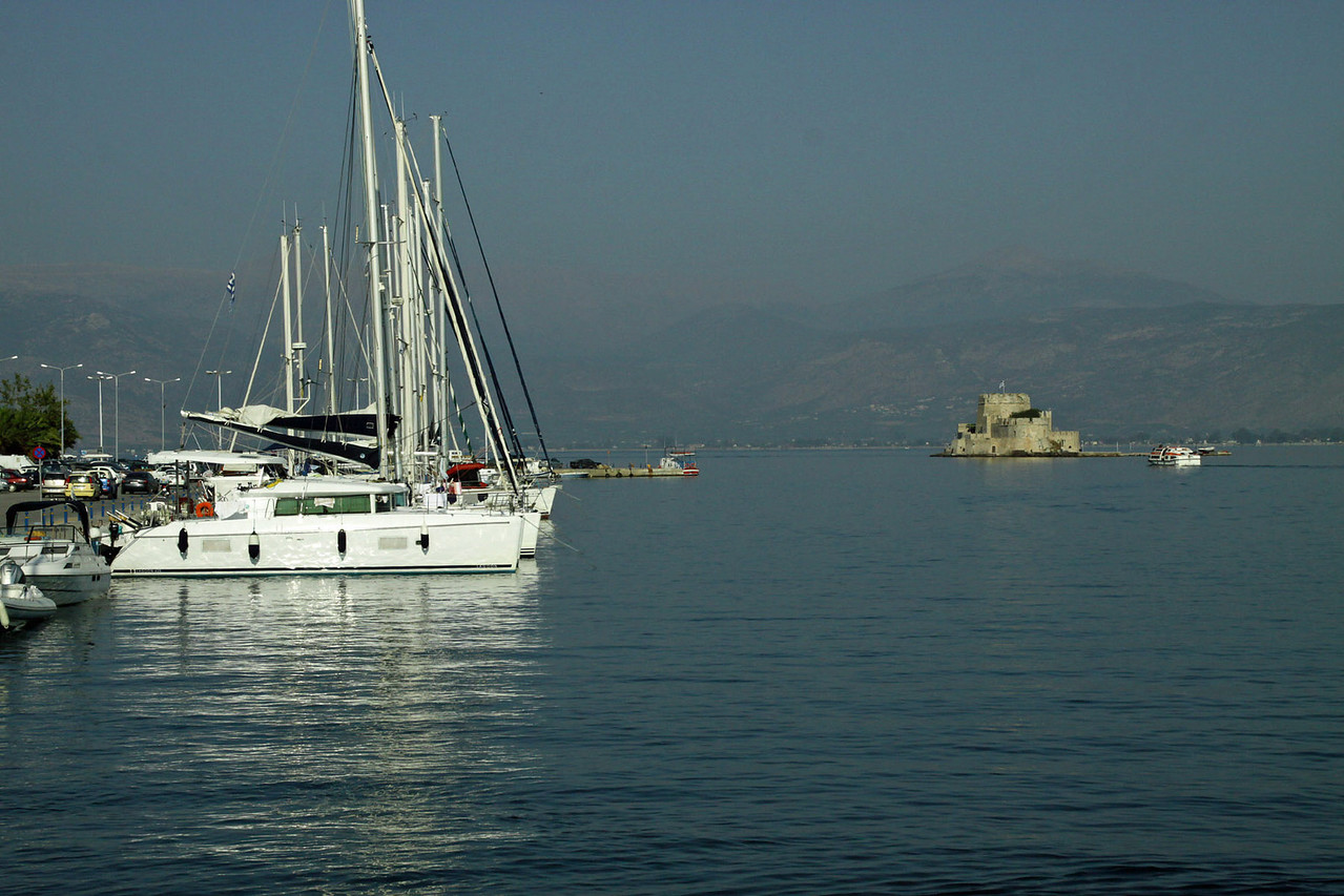 Navplion, Greece Harbor