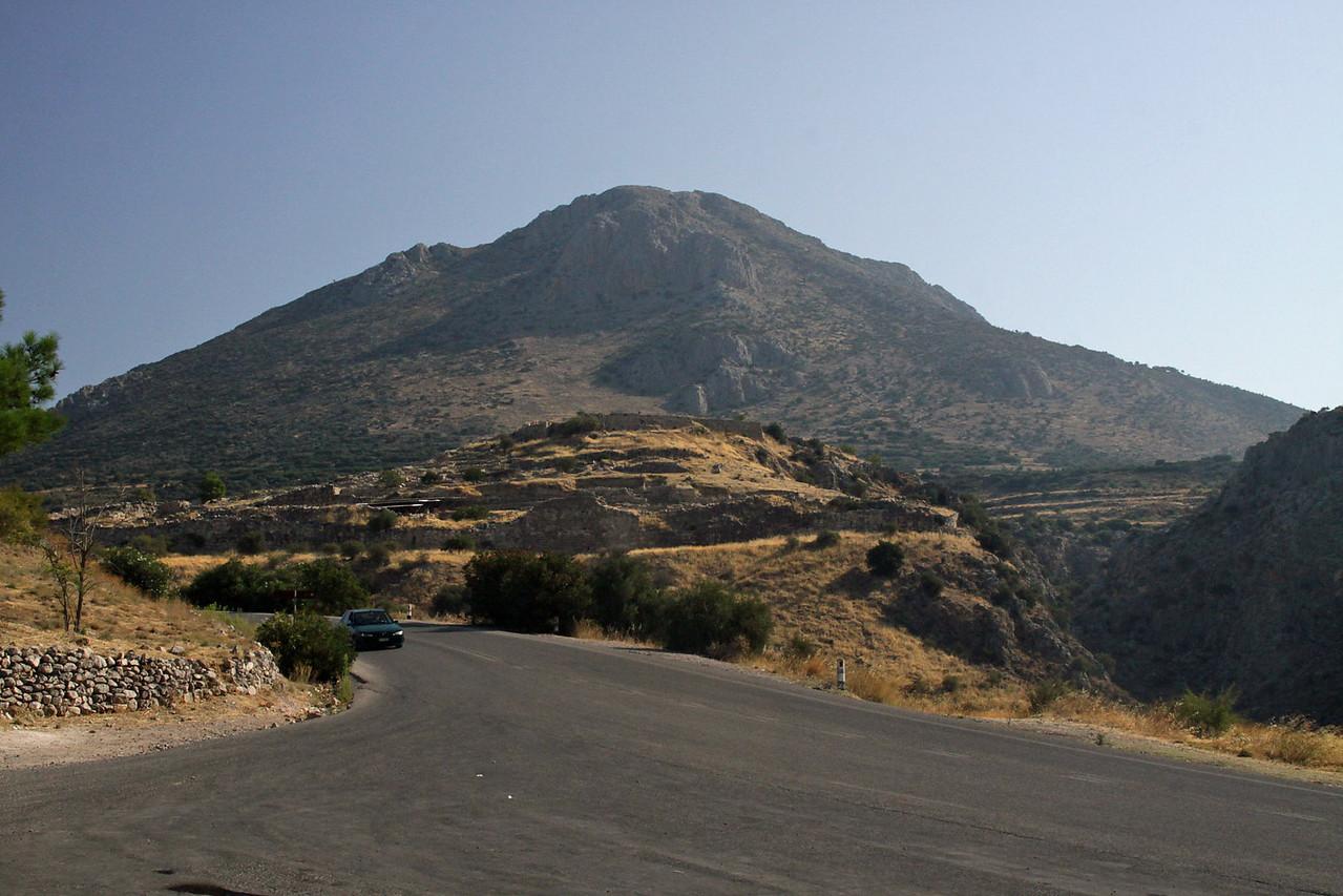 Citadel of Mycenae Ruins - 1600 to 1100 BC