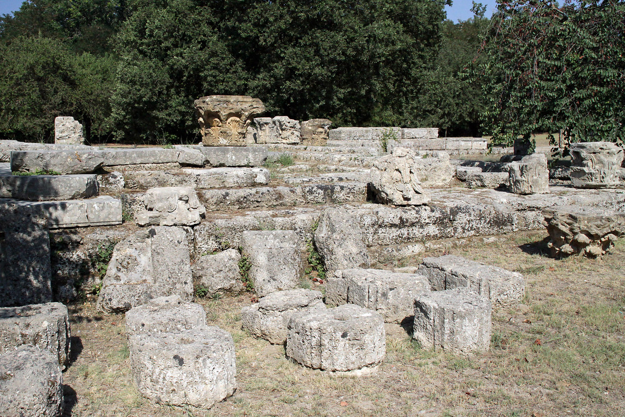 Ancient Olympia Ruins