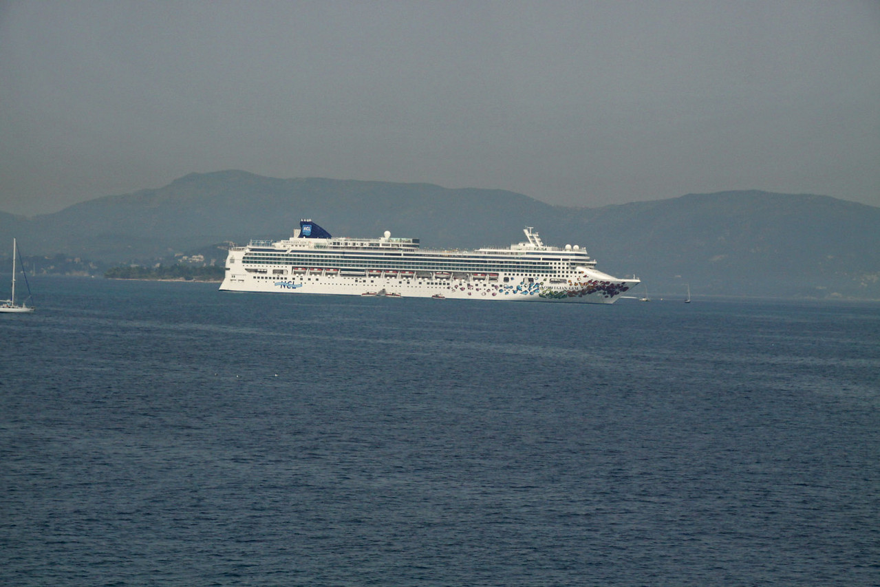 Corfu Harbor / Port