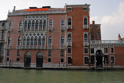 Buildings Along Grand Canal from Vaporetto
