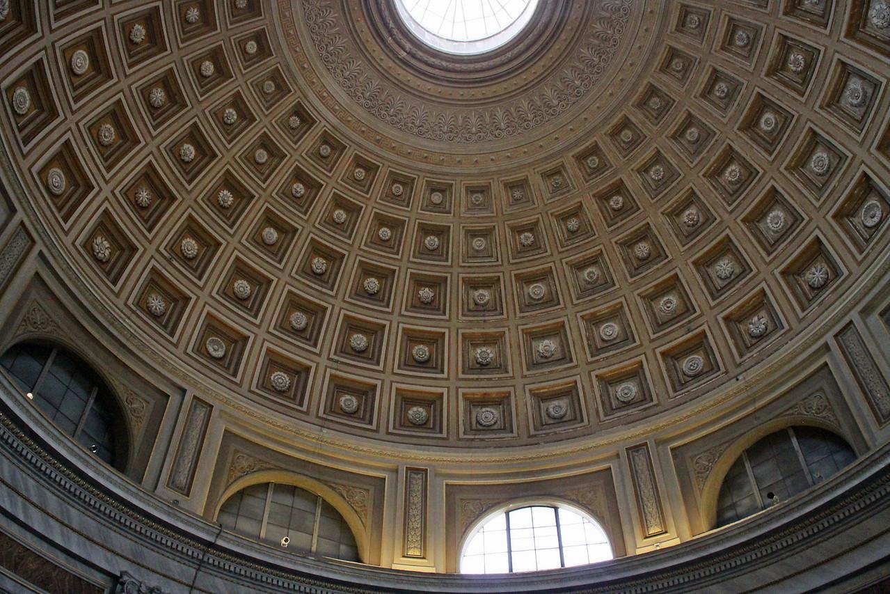 Vatican Museum -Dome Artwork