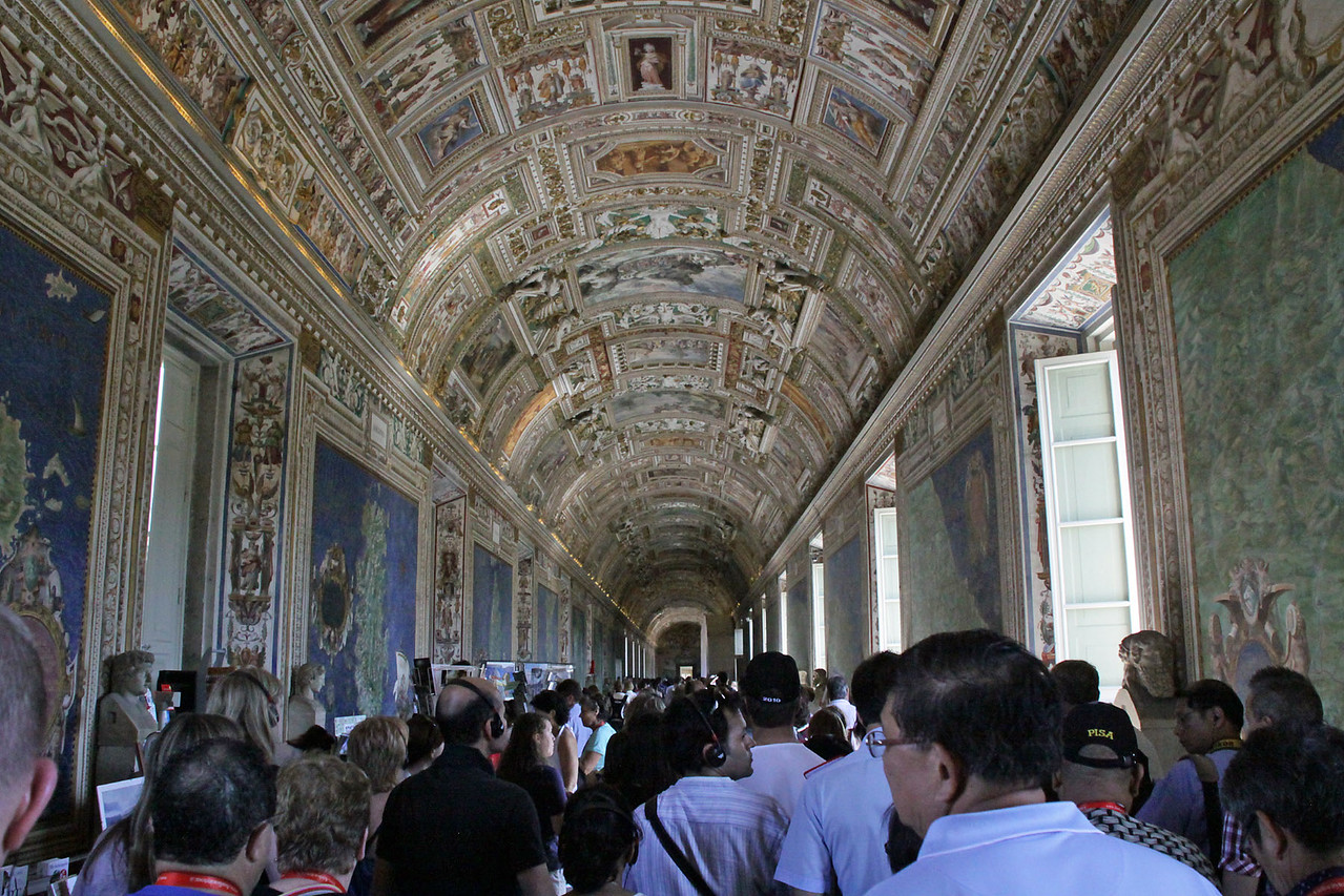 Vatican Museum Ceiling Paintings