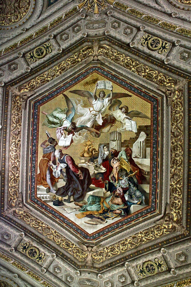 Vatican Museum - Ceiling Painting